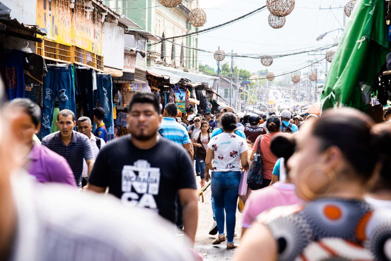 sicurezza in Nicaragua zone affollate