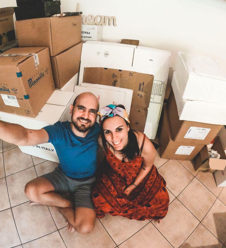 Siamo Giulia e Ale di tiportoviaconme travel blog