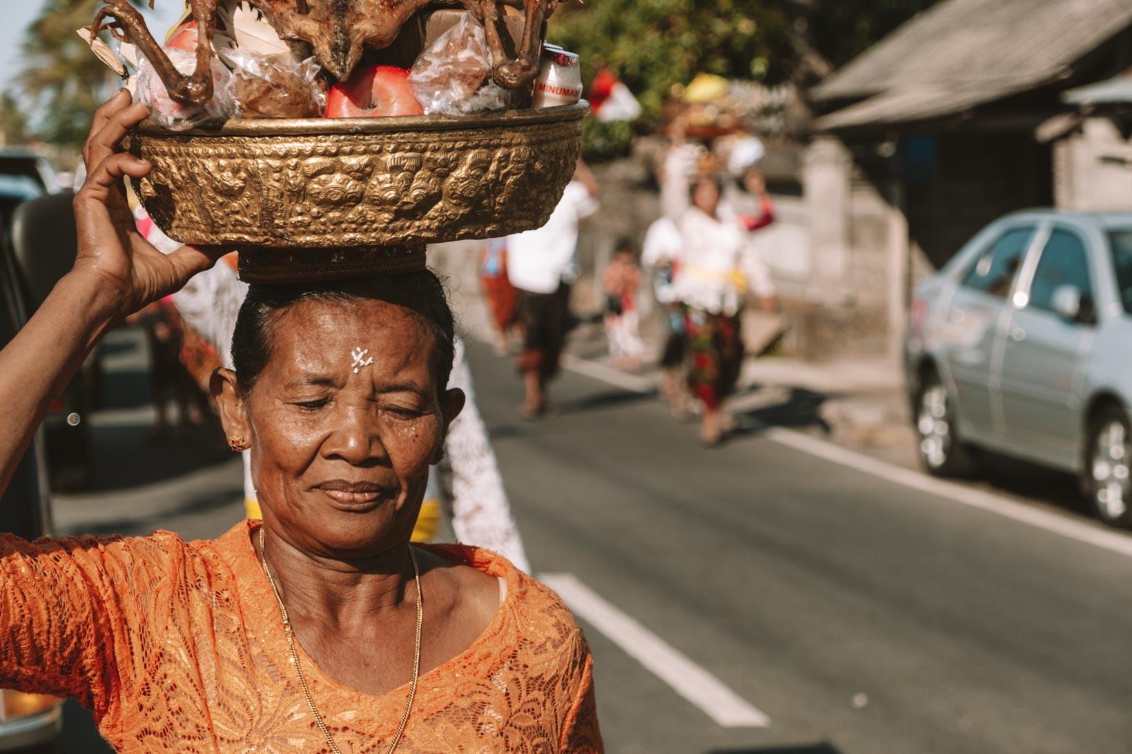 Cerimonia ad Amed Bali