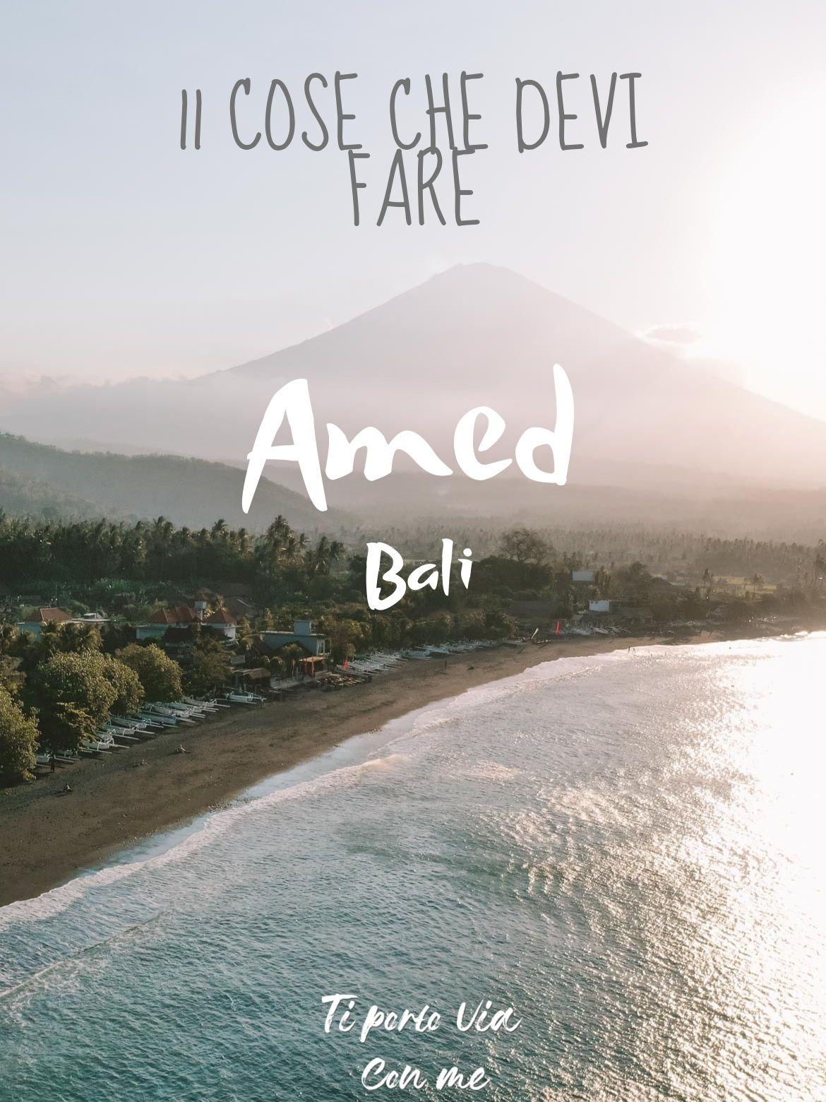 Cosa fare ad Amed Bali Pinterest