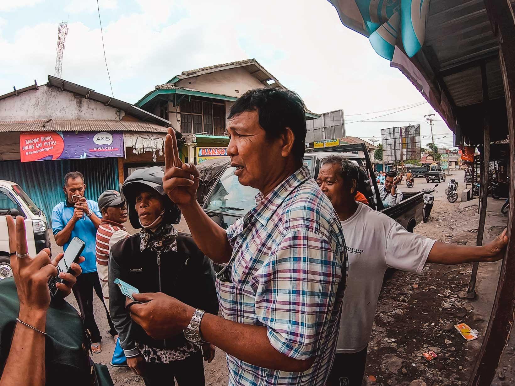 Contrattazioni Indonesia