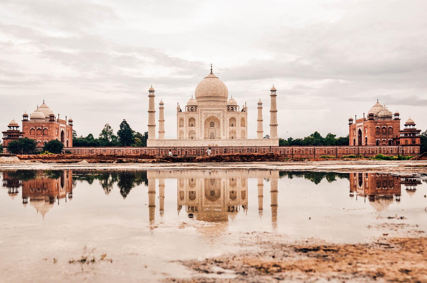 Taj Mahal esterno