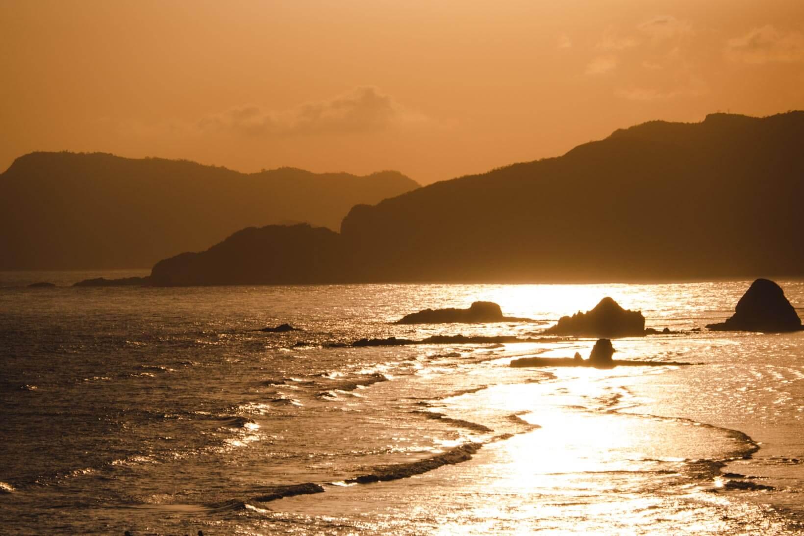 Bukit Merese tramonto
