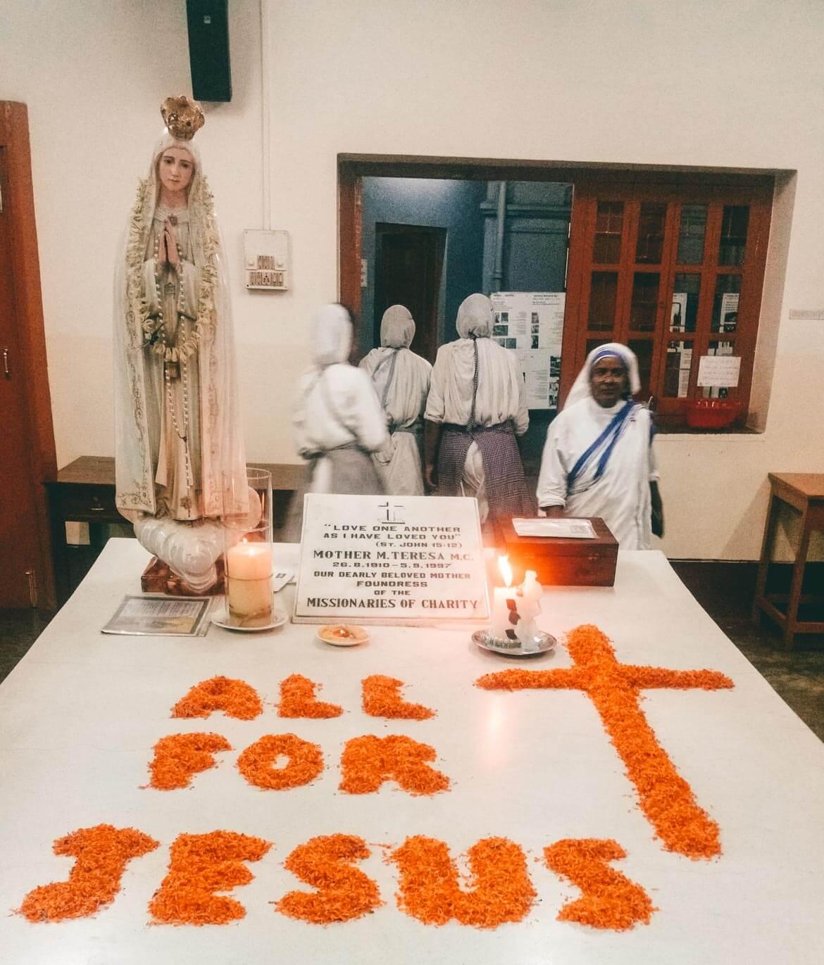 Tomba Madre Teresa Calcutta