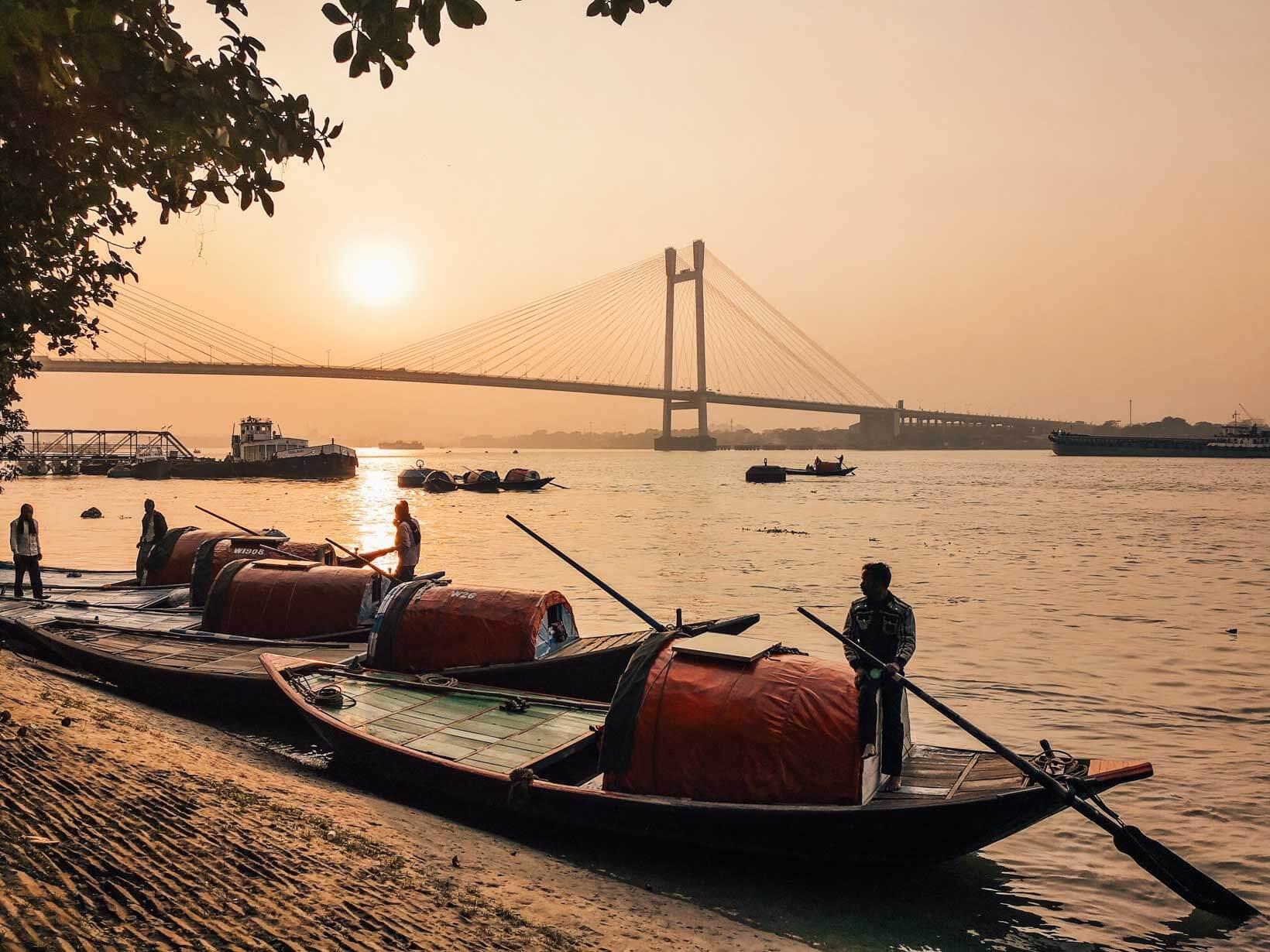 Giro in barca Prinsep Ghat Calcutta