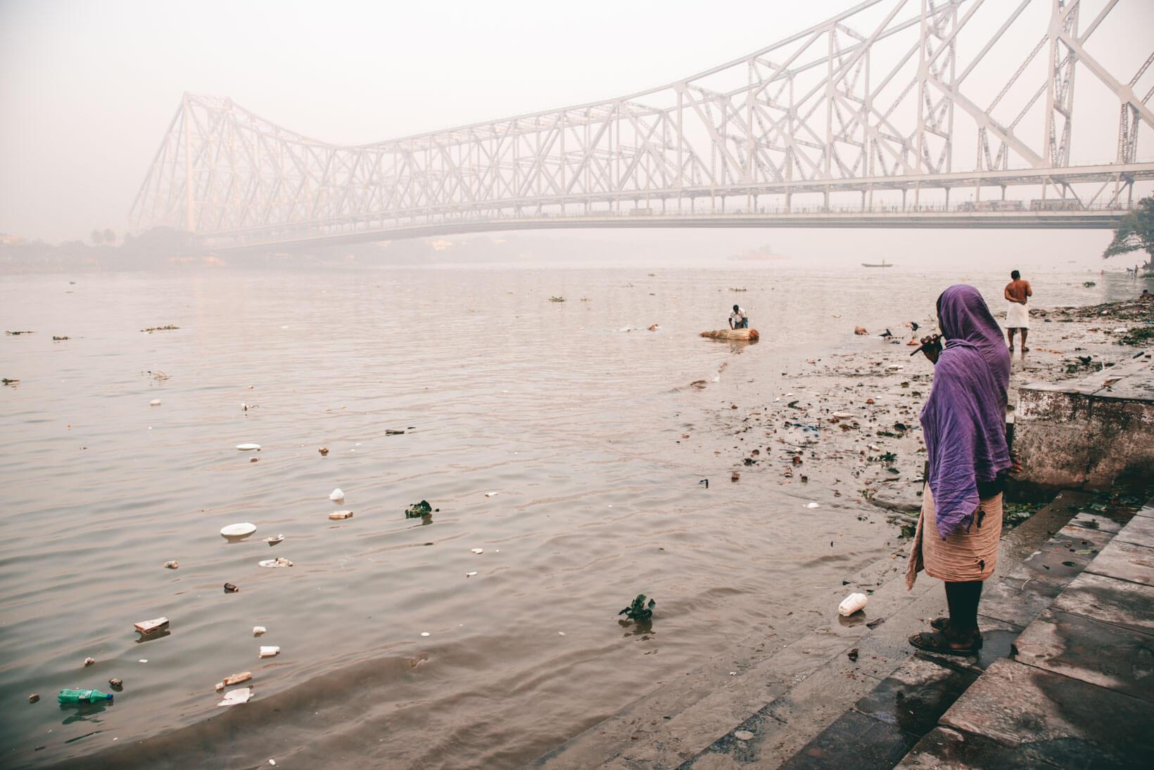 Cosa vedere a Calcutta Howrah Bridge