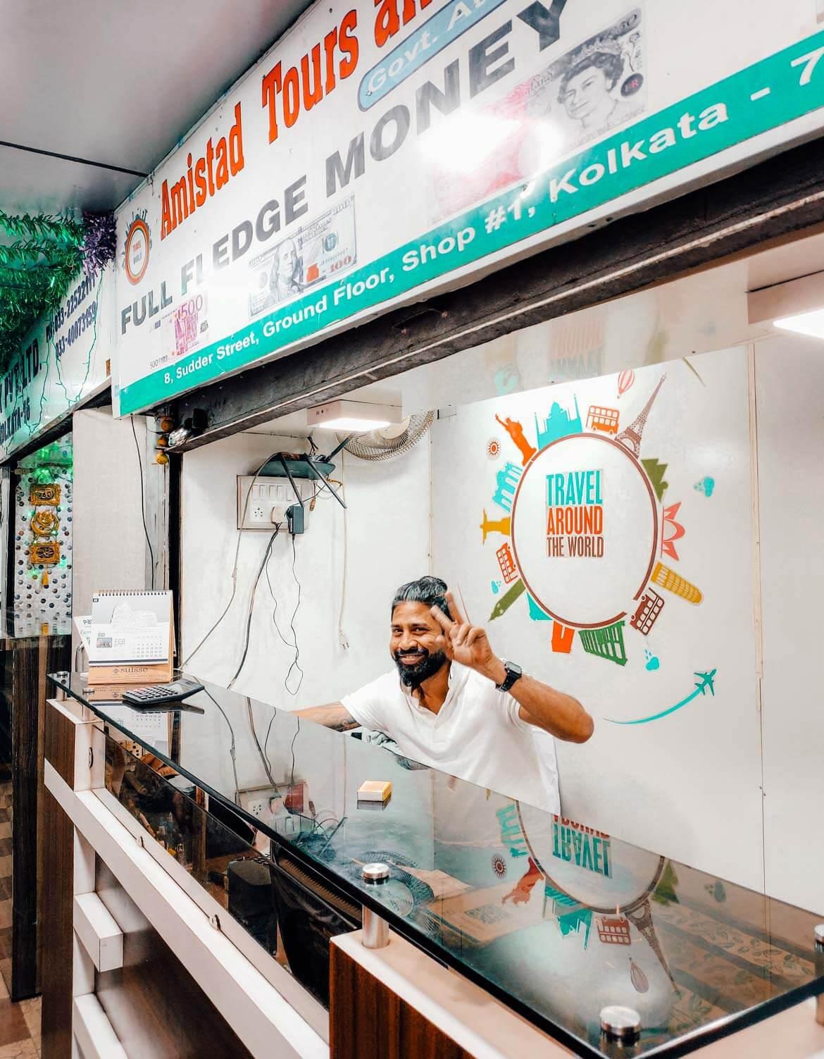 Calcutta dove cambiare i soldi