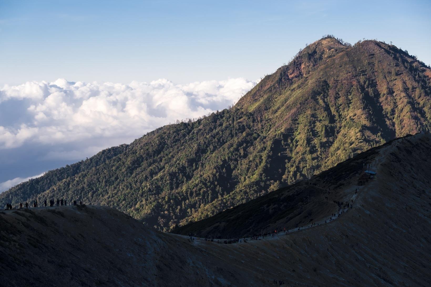 Discesa trekking Kawah Ijen