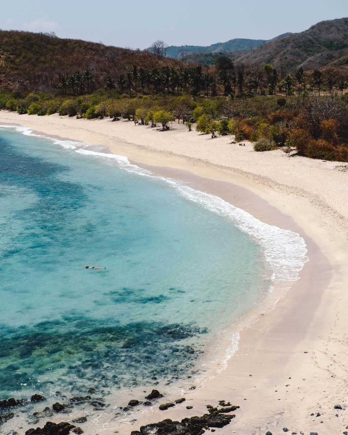 Lombok cosa vedere Spiaggia Semeti
