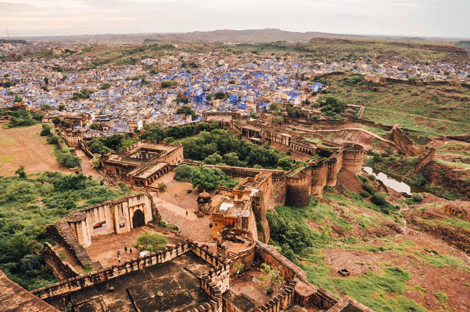 Rajasthan cosa vedere Jodhpur Meharangarh fort