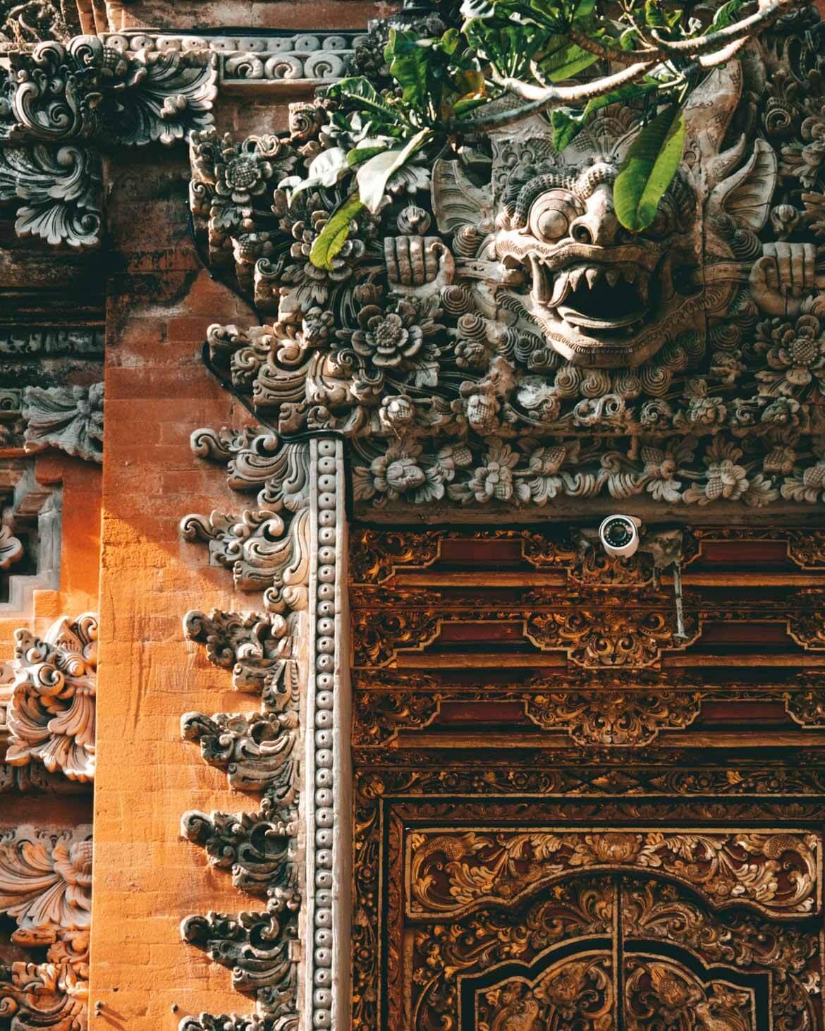 Ubud water palace porta