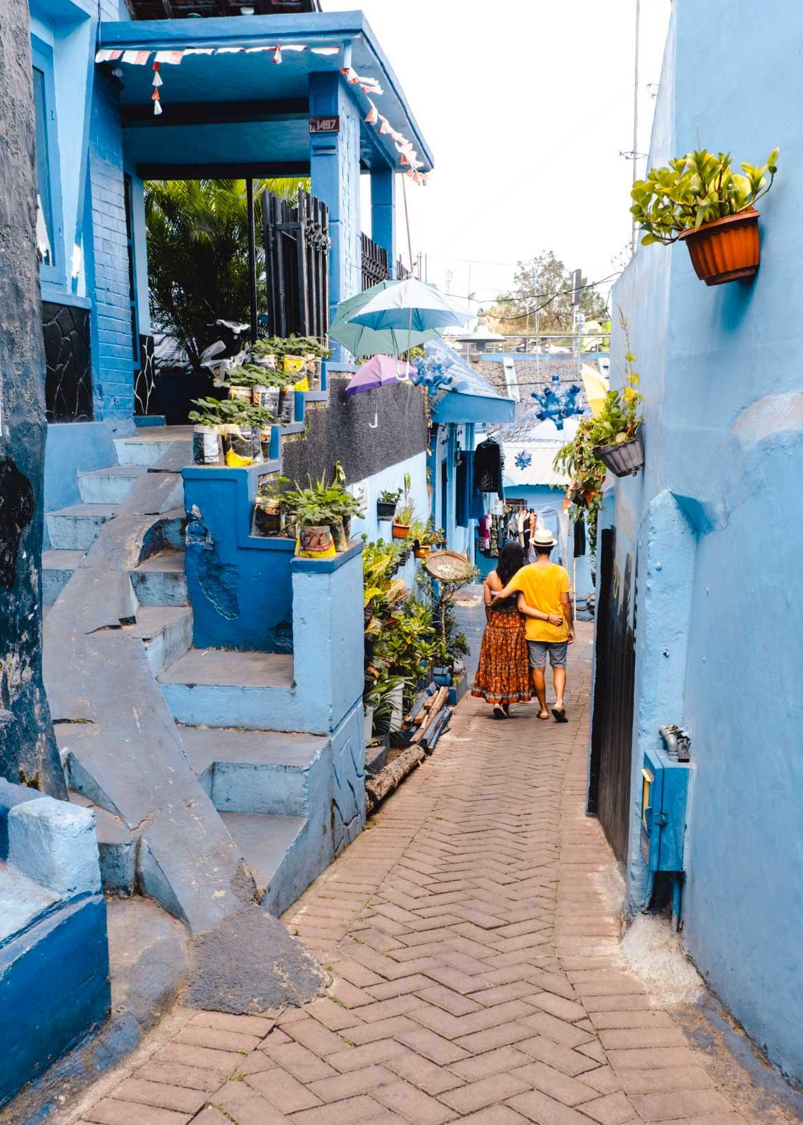 vicoli villaggio blu jodipan