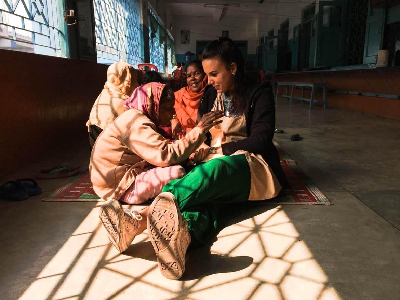 Volontariato missionarie carità fare compagnia ai pazienti