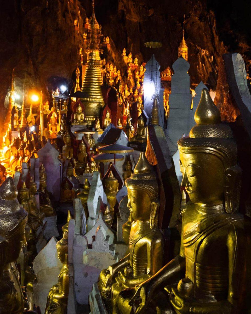 Grotte Pindaya Myanmar
