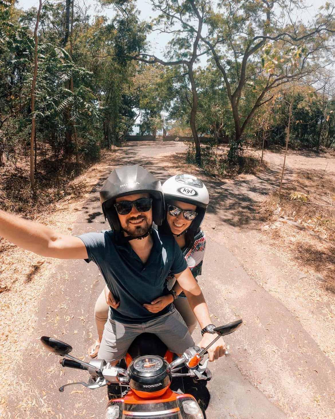 Spostarsi in scooter a Bali