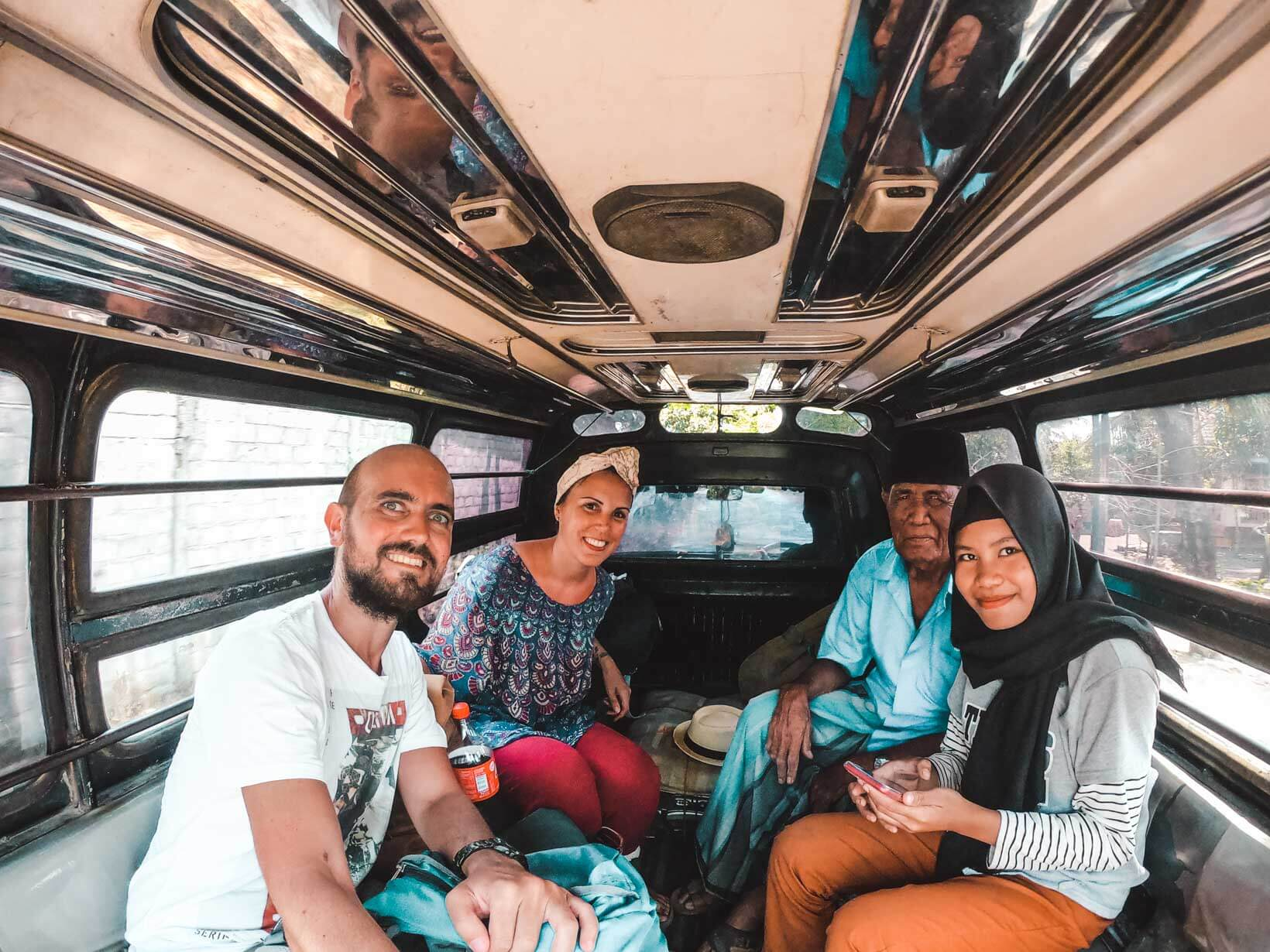Indonesia come spostarsi