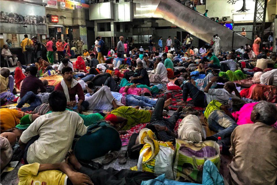 Stazione New Delhi in India