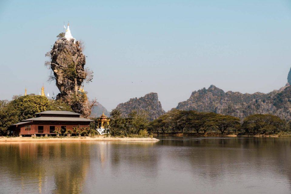 Kyauk Ka Lat Pagoda a Hpa-an