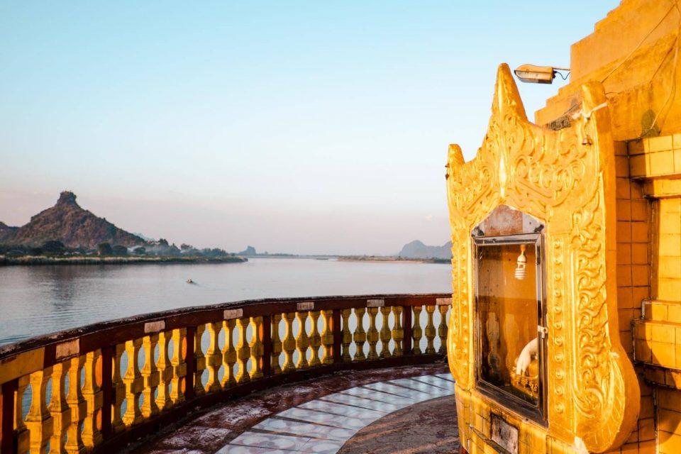 Hpa-an Shwe Yin Myaw Pagoda