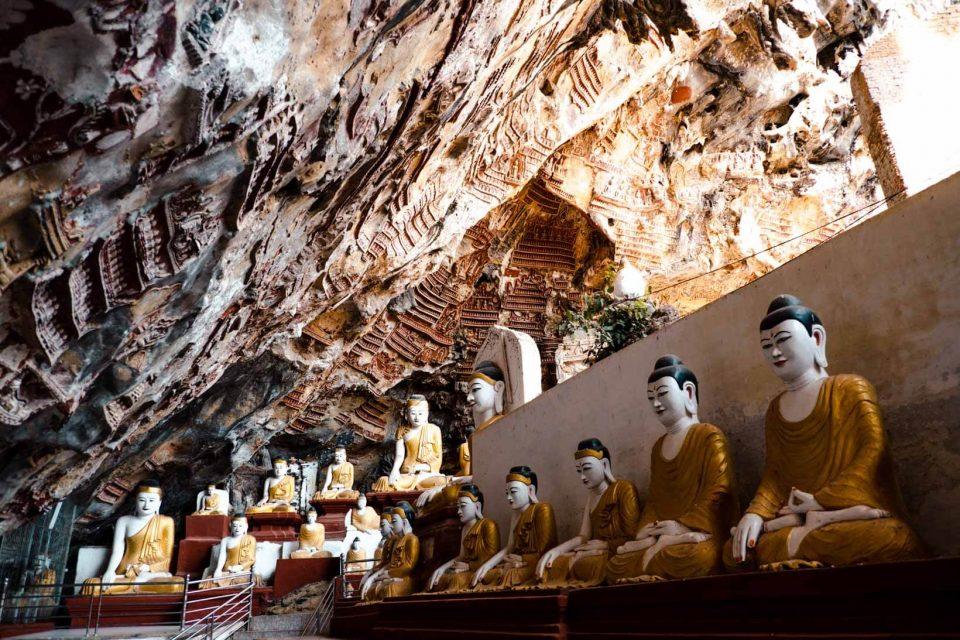 Kawgun Cave a Hpa-an